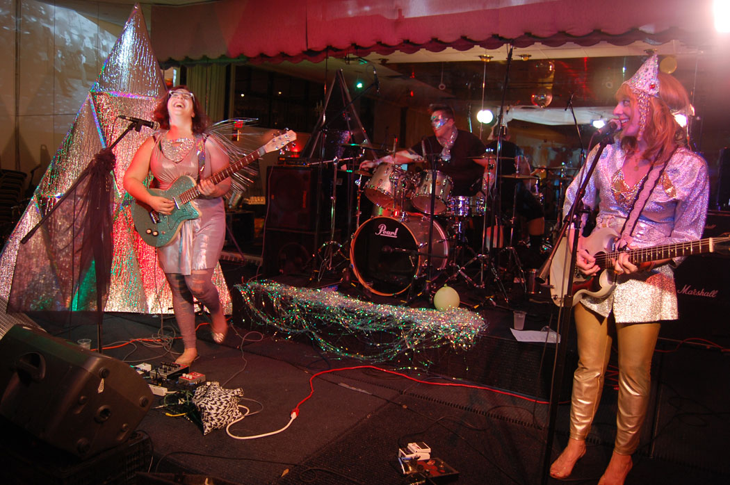 "Shepherdess performs at ""Map of Monsters"" at Once, Somerville, Oct. 17, 2014. (Greg Cook)"