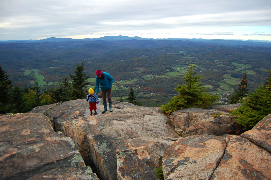 Mount Ascutney in Vermont, Oct. 3, 2015. (Greg Cook)