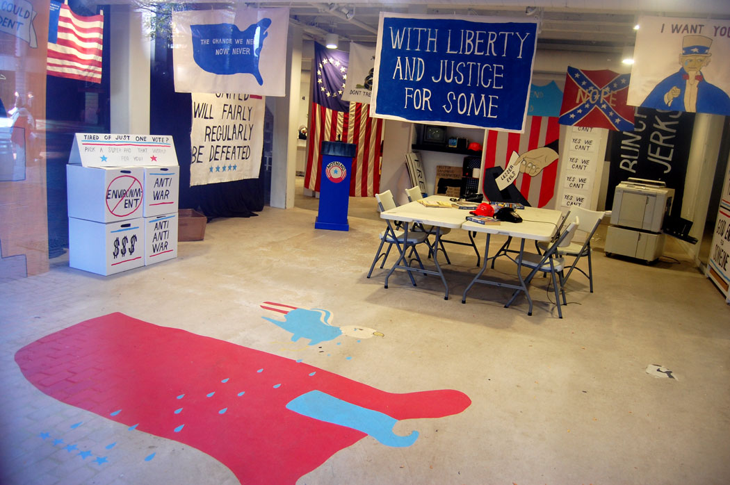 Image result for campaign headquarters