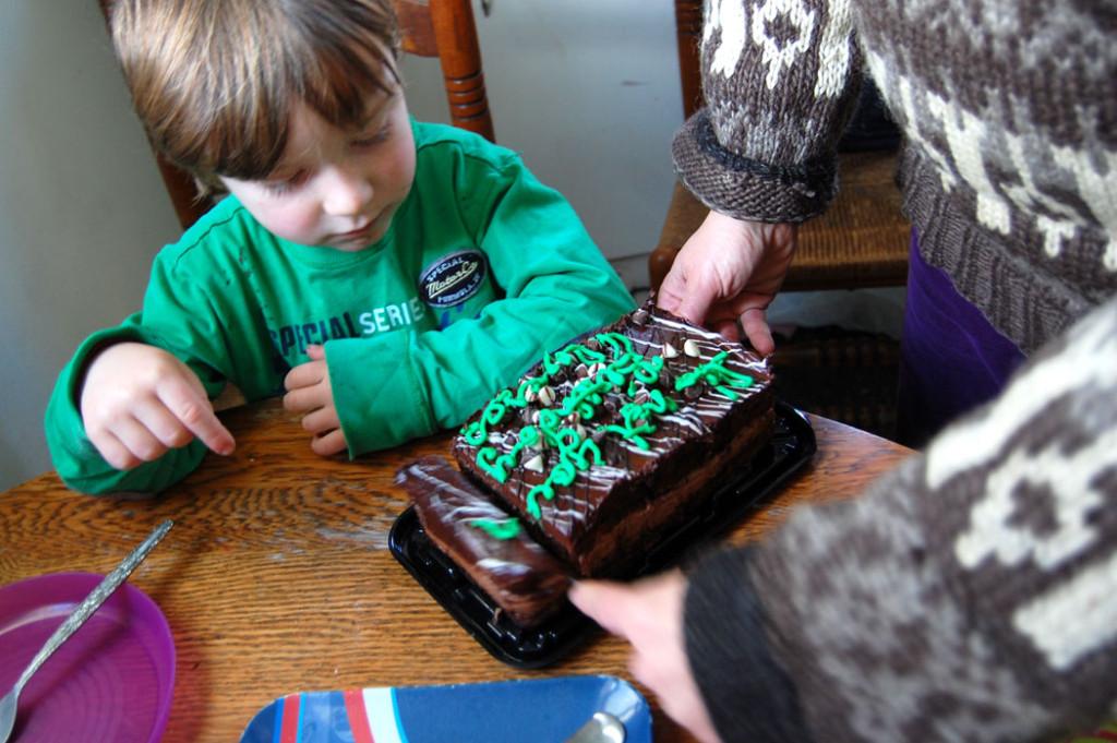"""It's Not Your Birthday"" Cake. Nov. 21, 2016. (Greg Cook)"
