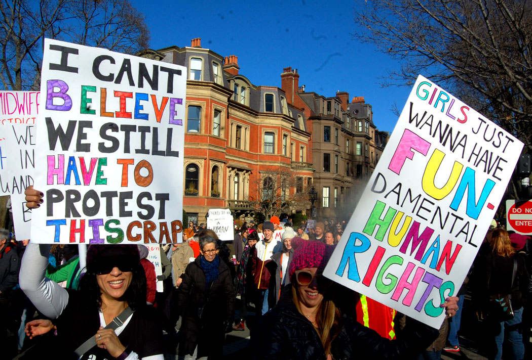 Best Signs At The Boston Womens March  Wonderland-4932