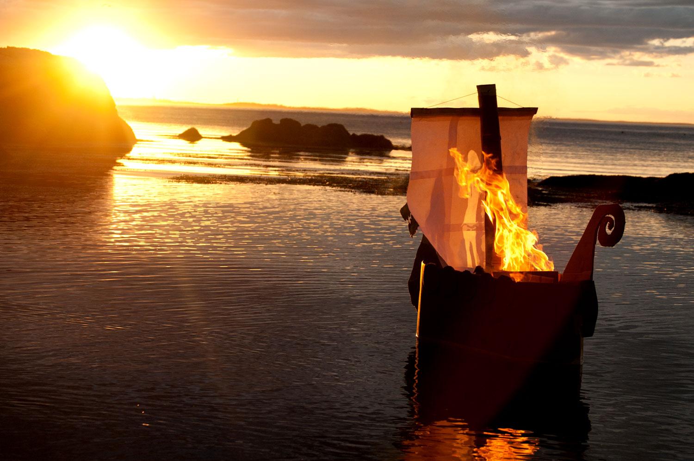 viking funeral for my father  u2013 wonderland