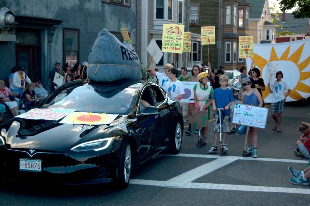 Gloucester Horribles Parade, July 3, 2017. (Greg Cook)