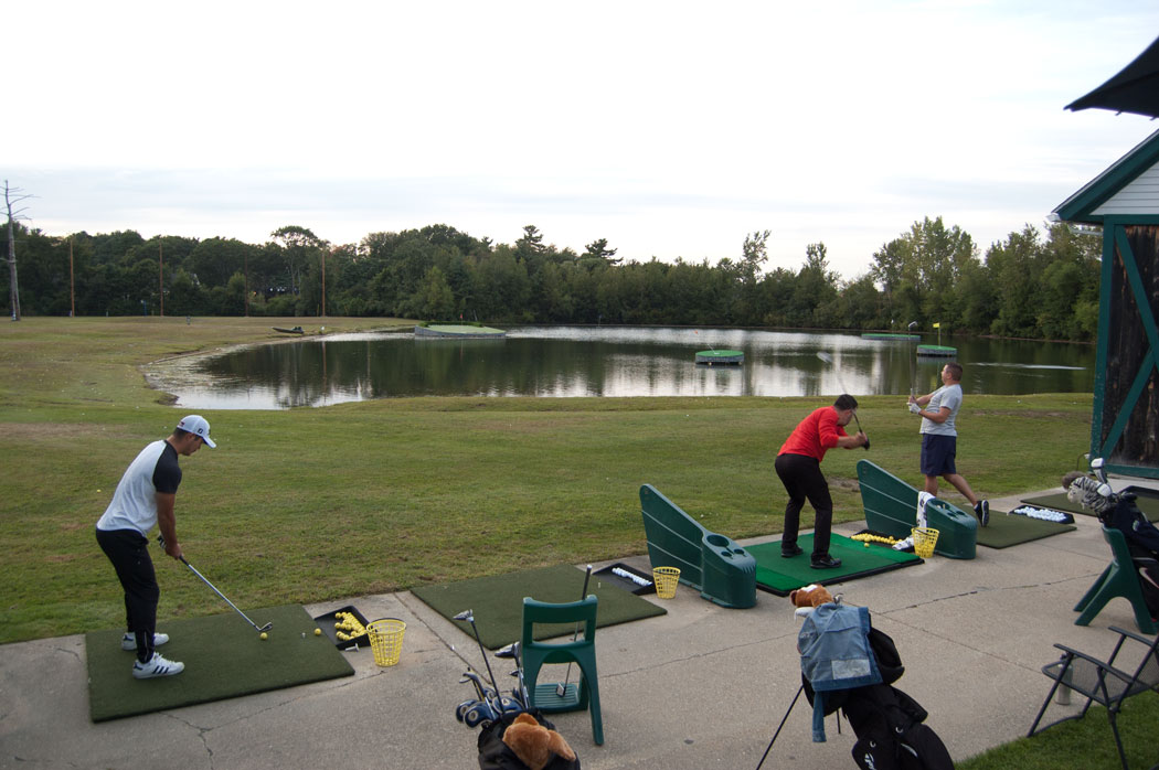 Driving range at Paradise Family Golf, Middleton, Sept. 2, 2017. (Greg Cook)