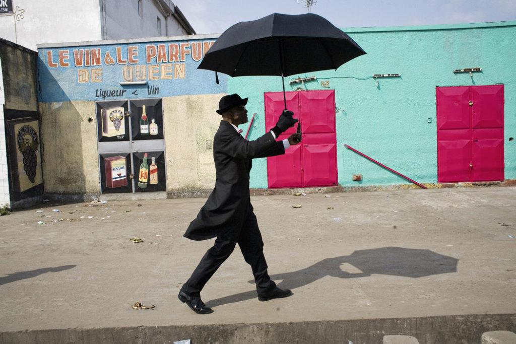 "Héctor Mediavilla, ""Lamame in Simon Kimbangu Avenue,"" 2008. (Courtesy of Holy Cross)"