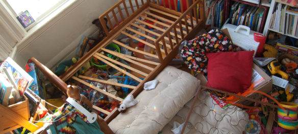 He was so proud of how he cleaned his bed. (Greg Cook)