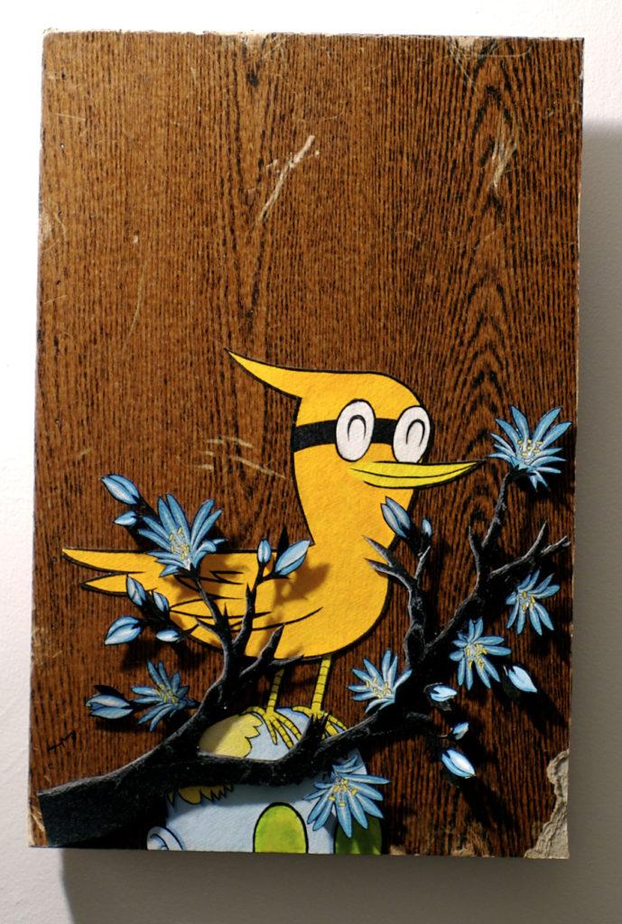 """Antis Puriņš's exhibition """"Super Magic Forest."""" (Courtesy)"""