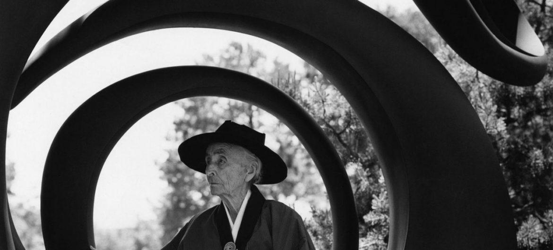 "Bruce Weber's 1984 photo ""Georgia O'Keeffe, Abiquiu, New Mexico."" (Courtesy Bruce Weber)"