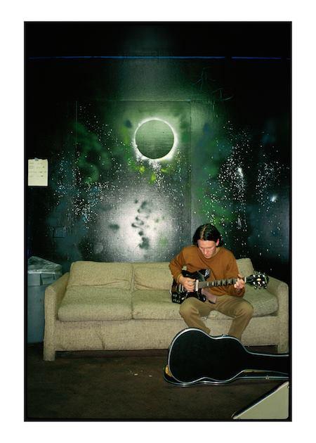 JJ Gonson's photo of Elliott Smith in Los Angeles, c. 1994.