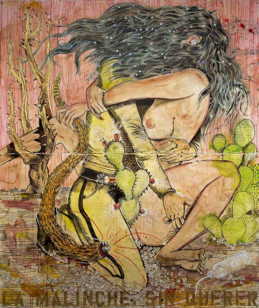 "Raul Gonzalez's ""La Malinche Sin Querer."" (Courtesy)"