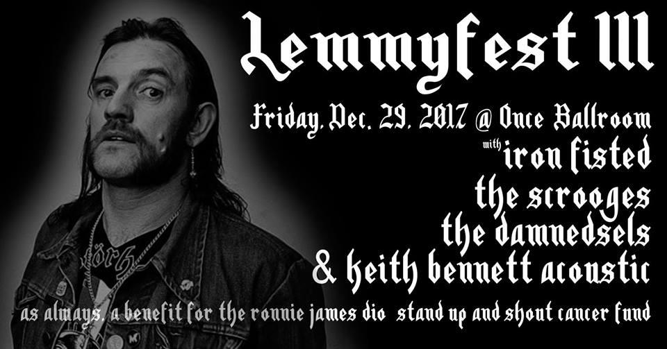 """Lemmyfest 3."" at Once, Somerville, Dec. 29, 2017."