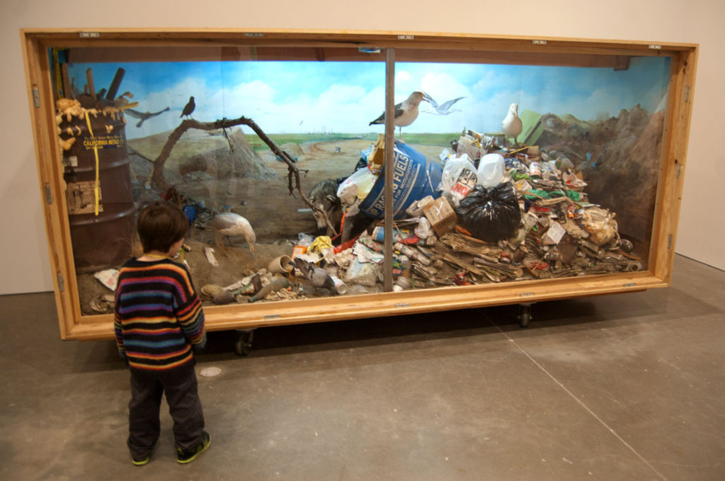 "Mark Dion's ""Landfill,"" 1999-2000. (Greg Cook)"