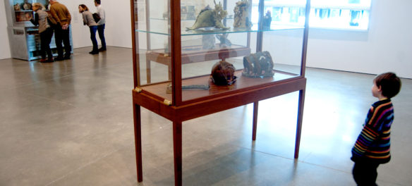 """Mark Dion and Dana Sherwood's """"Encrustations,"""" 2012, with found objects and real marine specimens artificially weathered, """"a marvel of 'fantastical archaeology' and trompe l'oeil sculpture."""" (Greg Cook)"""