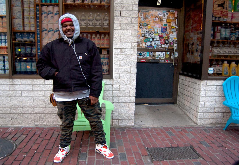 Michael Christmas.Seen Boston Rapper Michael Christmas At Bodega Wonderland