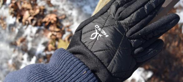 Lost glove seen along Cascade Trail in Middlesex Fells, Melrose, Jan. 21, 2018. (Greg Cook)