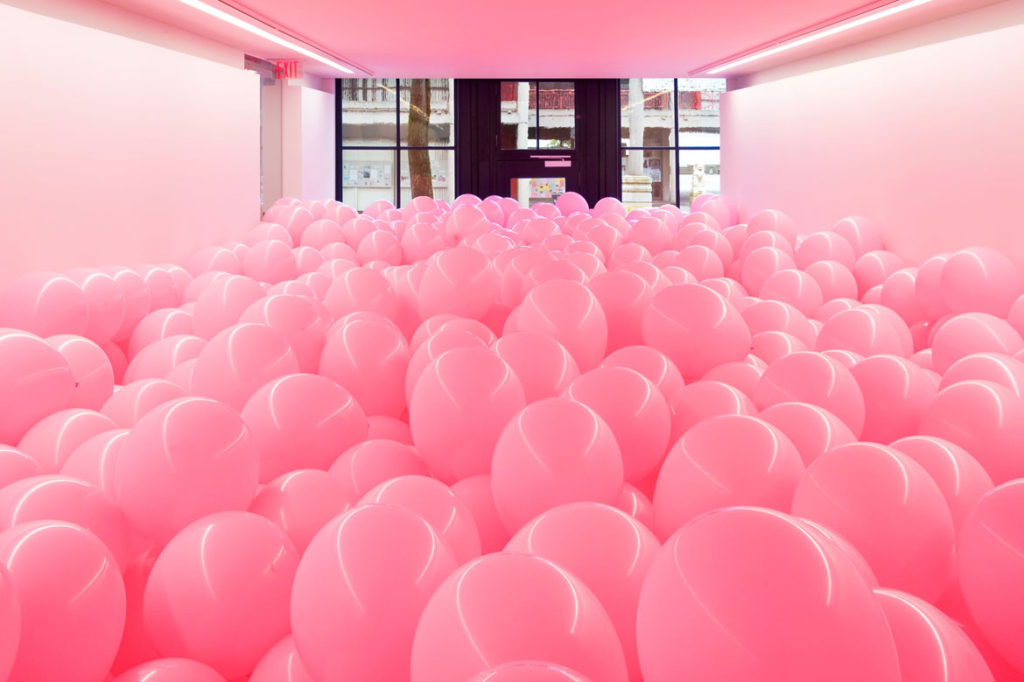 "Martin Creed, ""Work No. 329 (detail),"" 2004. (Courtesy)"
