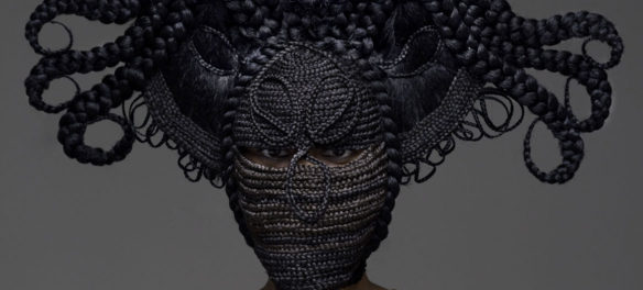 "Delphine Diallo. ""Highness – Hybrid 5 (Collaboration with Joanne Petit-Frére),"" 2011. (Courtesy of the artist)"