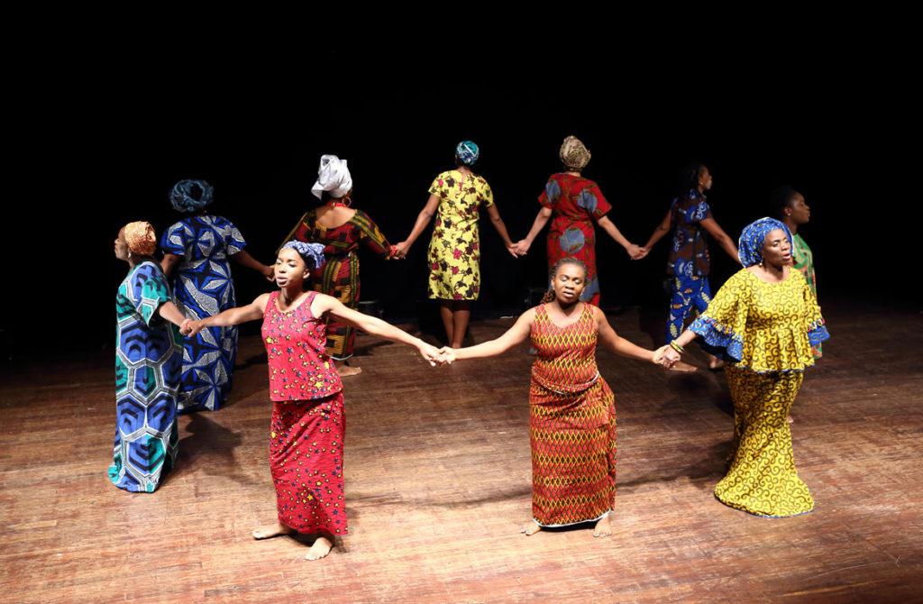 """Hear Word! Naija Woman Talk True"" at American Repertory Theater. (Courtesy)"
