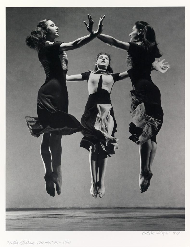"Barbara Morgan ""Martha Graham-Celebration (Trio),"" 1937, gelatin silver print. (Courtesy Williams College Museum of Art)"