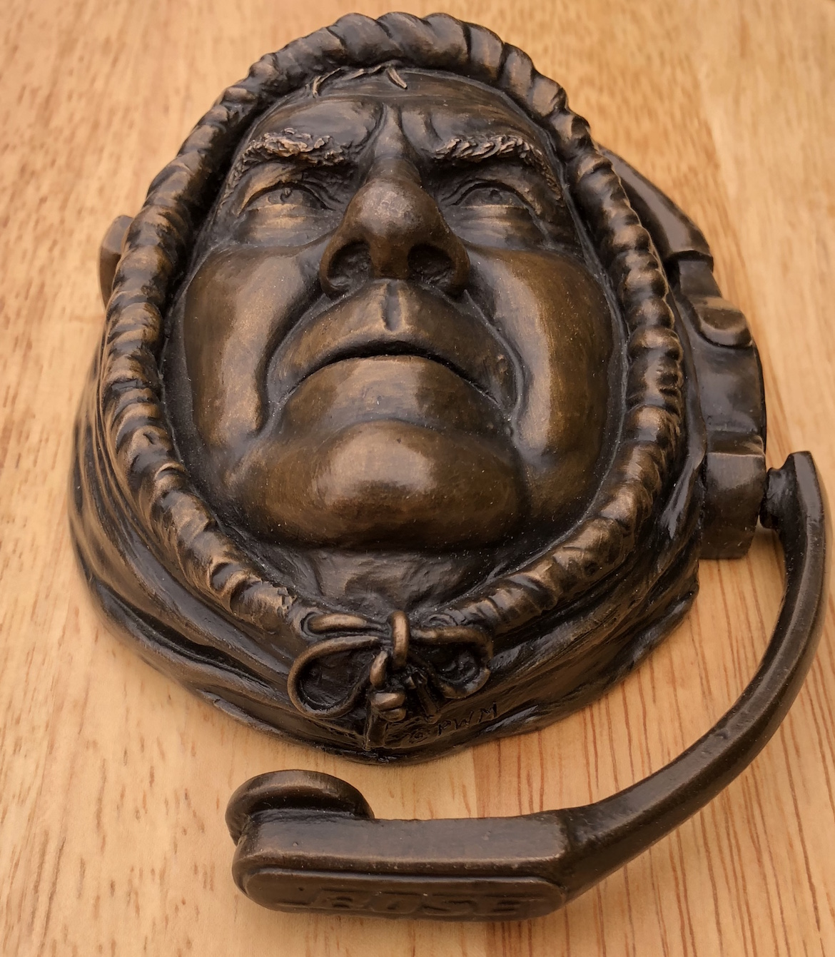 ... Palmer Murphy\u0027s Bill Belichick door knocker. (Courtesy of the artist) & Welcome Guests To Your Home With \u2026 A Bill Belichick Door Knocker ...