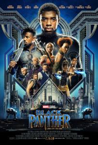 "Poster for director Ryan Coogler's ""Black Panther"" movie. (Courtesy of Marvel Studios)"