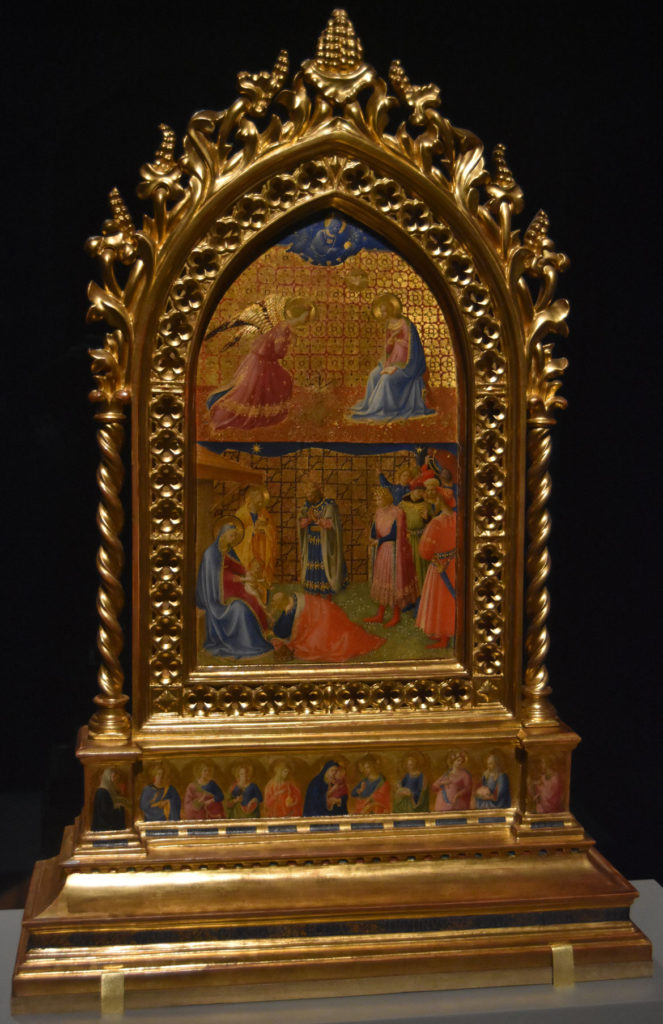 "Fra Angelico ""The Annunciation and The Adoration of the Magi,"" about 1426/27. (Greg Cook)"
