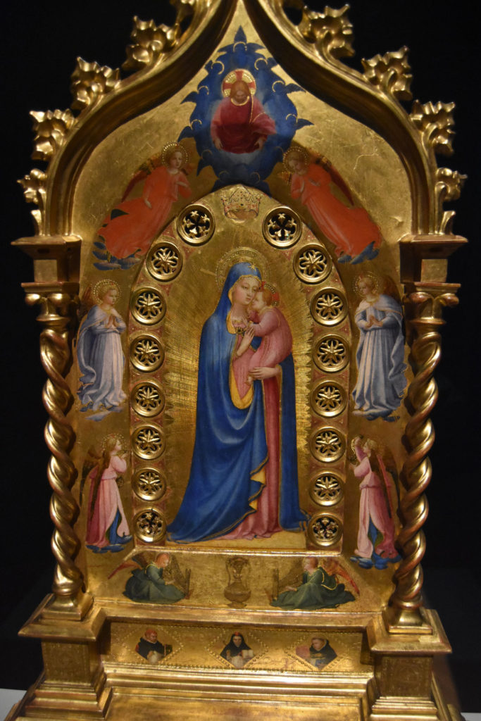 "Fra Angelico ""The Madonna della Stella (Madonna of the Star),"" about 1433/34. (Greg Cook)"