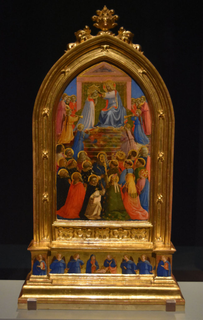 "Fra Angelico ""The Coronation of the Virgin,"" about 1429. (Greg Cook)"