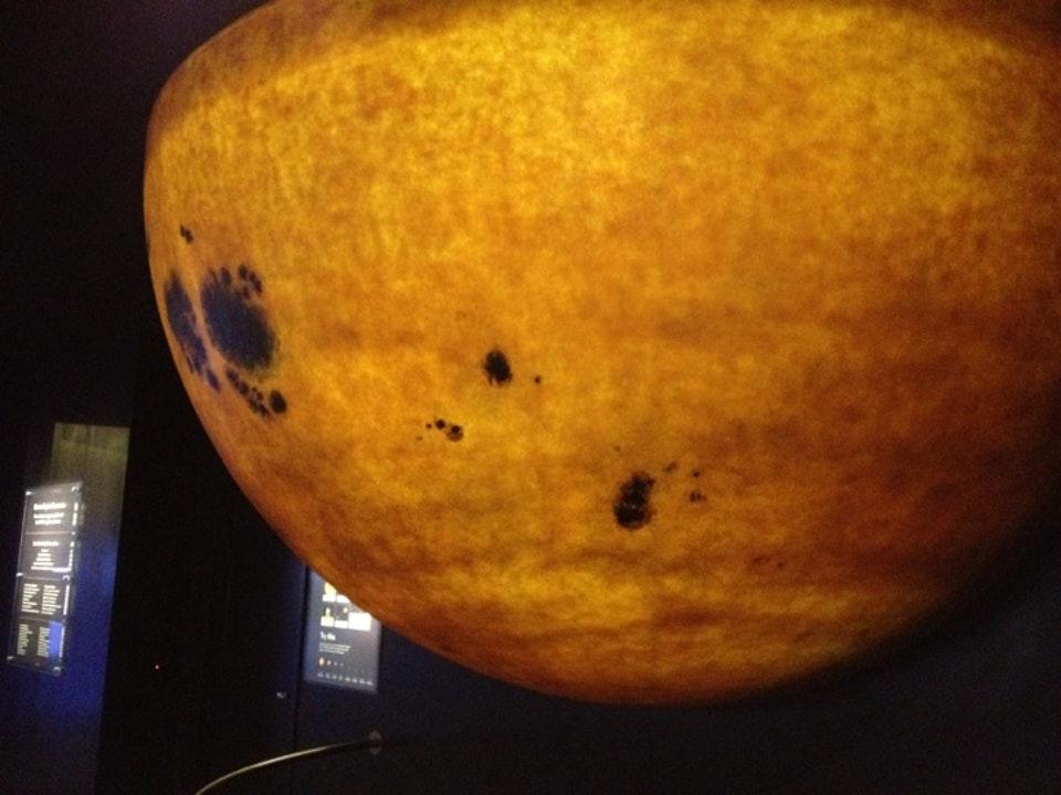 The Sun at Boston's Museum of Science. (Via Foursquare)