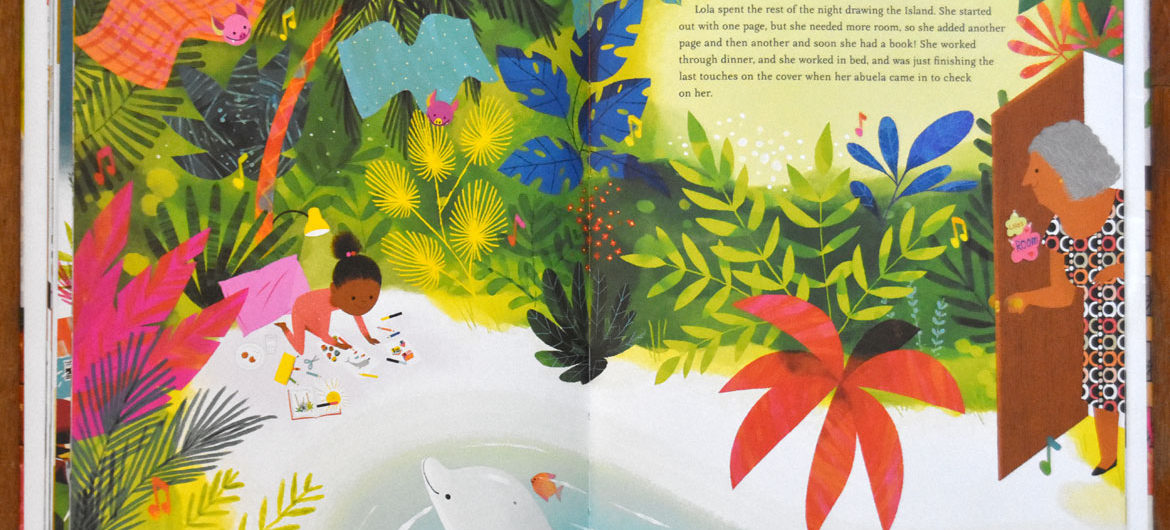 """""""Islandborn"""" authored by Junot Diaz and illustrated by Leo Espinosa."""
