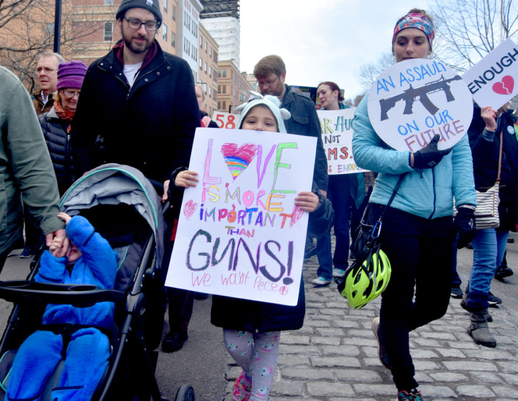 The March For Our Lives: Boston, March 24, 2018. (Greg Cook)