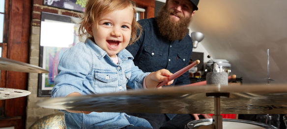 "Jonathan Ulman from Kelly Davidson's ""Rock Parents"" series."