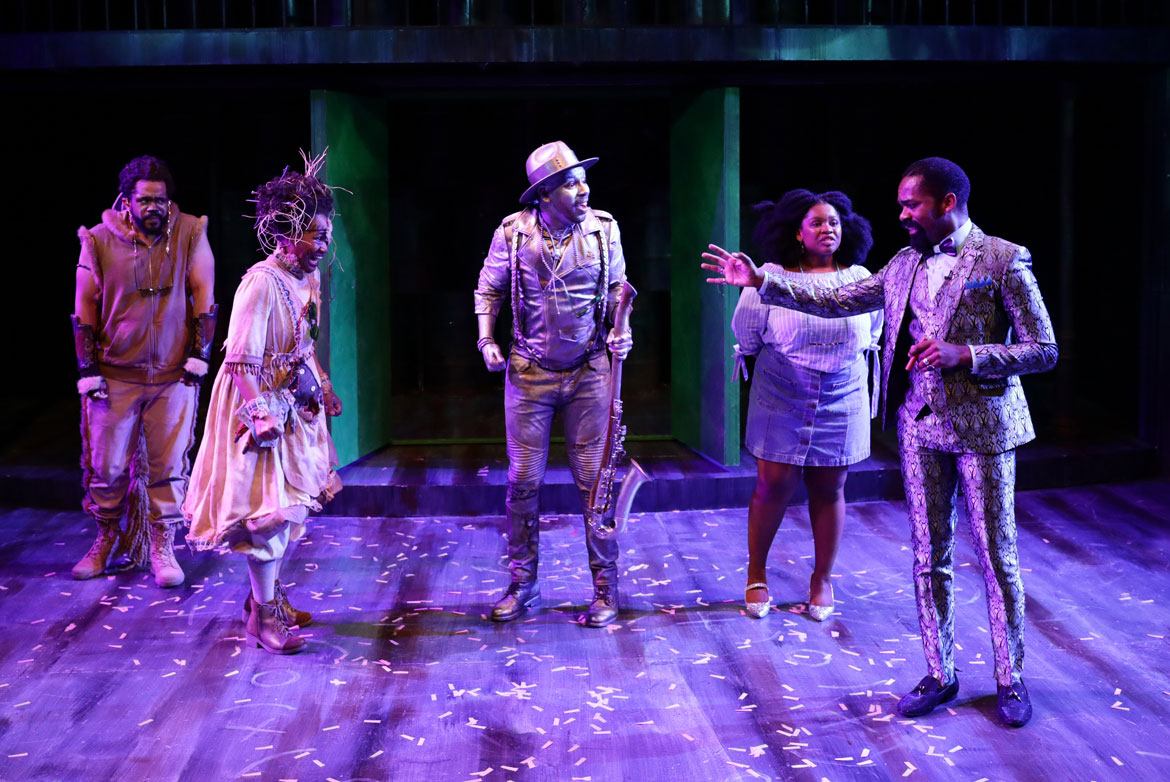 The Wiz' Returns With An All-People-Of-Color Cast And New Orleans