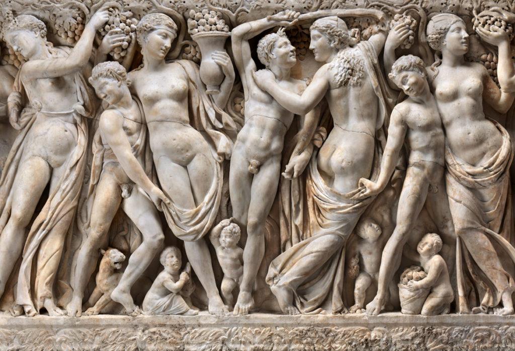 Farnese Sarcophagus. (Gardner Museum)