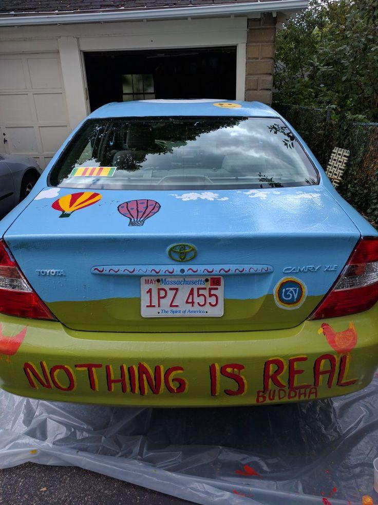 Mark Alston-Follansbee's art car.