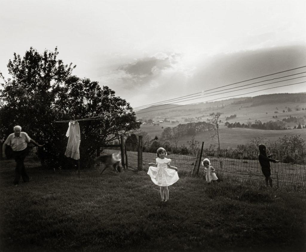 "Sally Mann ""Easter Dress,""1986, gelatin silver print. (© Sally Mann)"