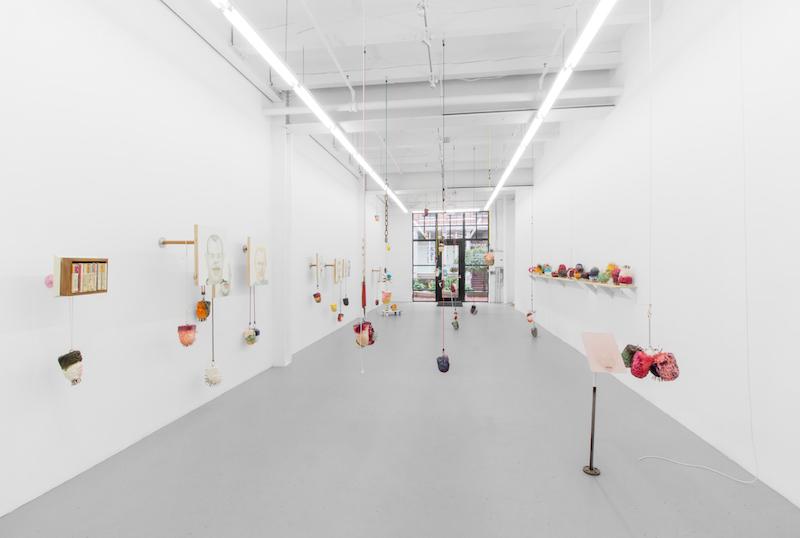 "Steve Locke's ""The School of Love"" at Samson gallery, Boston, 2016. (Courtesy Steve Locke)"