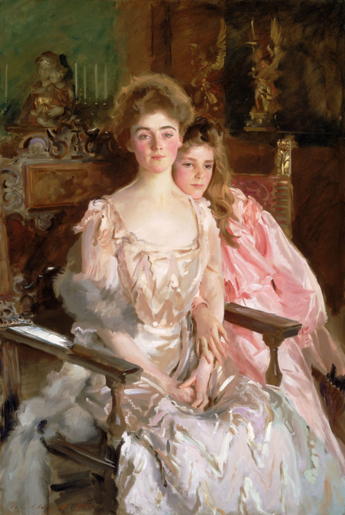 "John Singer Sargent, ""Mrs. Fiske Warren (Gretchen Osgood) and Her Daughter Rachel,"" 1903, oil on canvas. (Courtesy Museum of Fine Arts, Boston)"