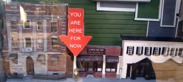 """Dina Gjertsen's """"You Are Here For Now."""""""