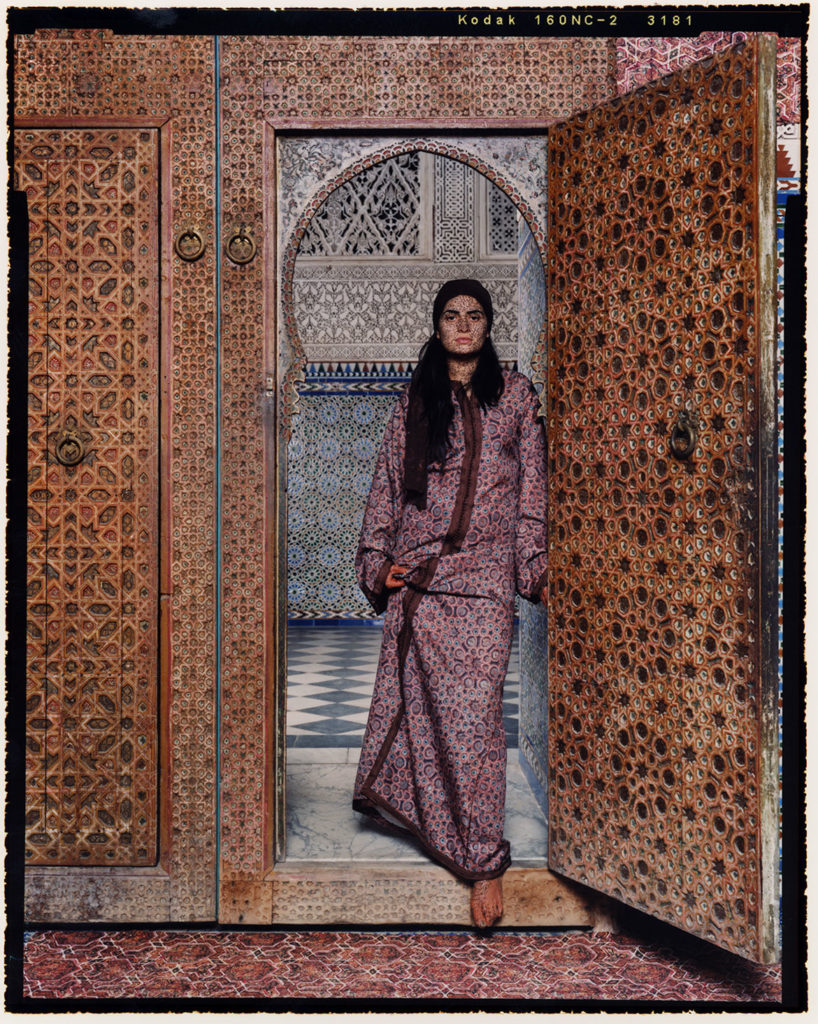 "Laila Essayed, from ""Harem Revisited."" (Courtesy Newport Art Museum)"