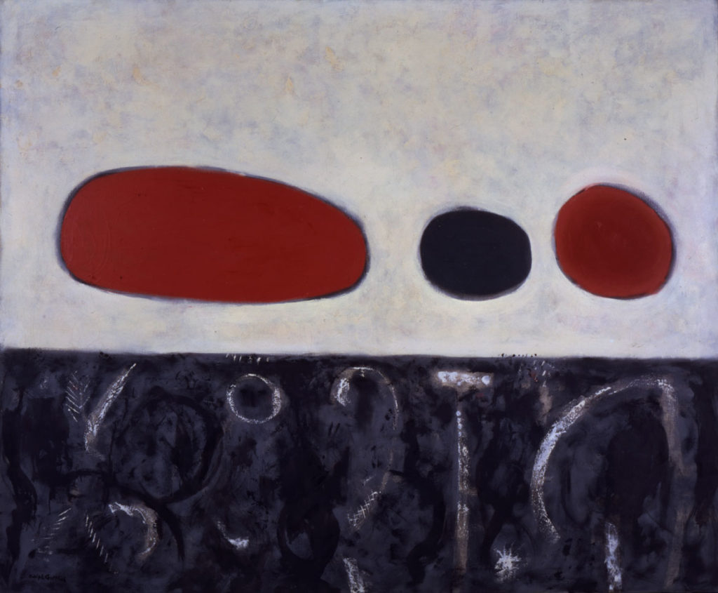 "Adolph Gottlieb, ""Sea and Tide."" (Courtesy Provincetown Art Association and Museum)"