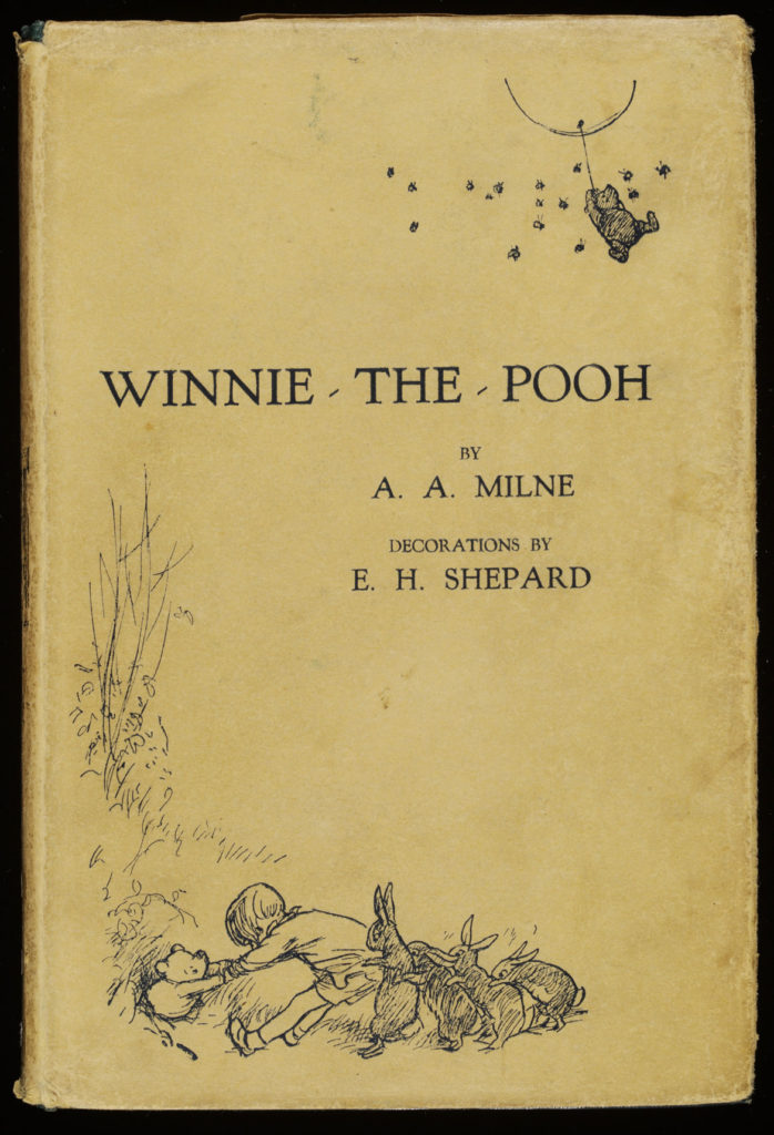 """Winnie-the-Pooh"" first edition, 1924. (Courtesy Museum of Fine Arts, Boston)"