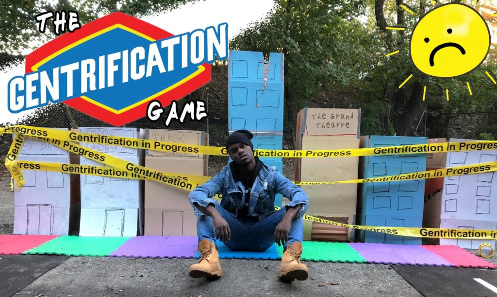 "Tory Bullock's ""The Gentrification Game."" (Courtesy)"