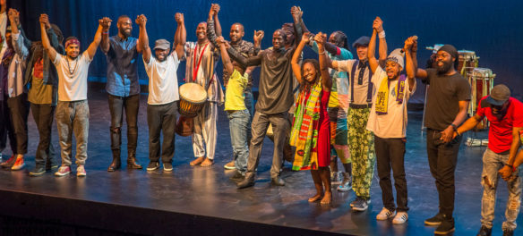 Finale of the 2017 Racines Black Dance Festival. (Maria Fonseca)