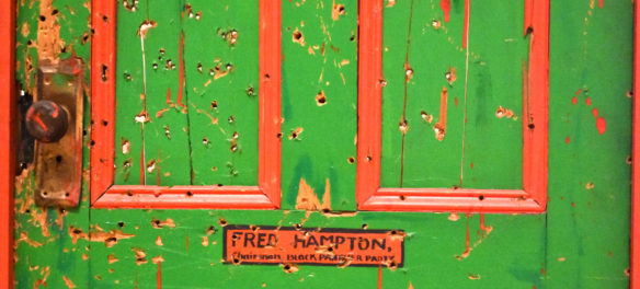 "Dana Chandler's ""Fred Hampton's Door 2,"" 1975."