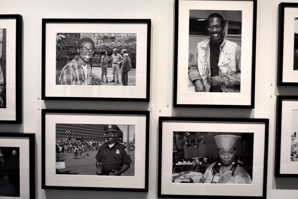 """Craig Bailey's """"Faces of the AIDS Crisis"""" photos 1991-1997."""