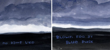 """From """"Cloud on a Mountain: Comics Poems from Greylock"""" by Franklin Einspruch."""