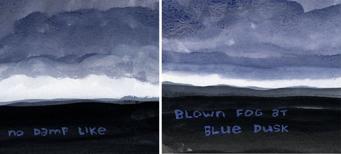"From ""Cloud on a Mountain: Comics Poems from Greylock"" by Franklin Einspruch."