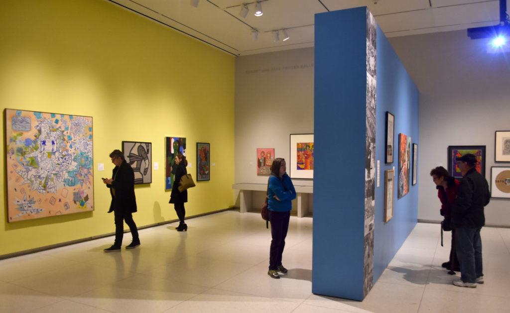 """The Time is Now! Art Worlds of Chicago's South Side, 1960–1980"" at the Smart Museum of Art, The University of Chicago. (Greg Cook)"
