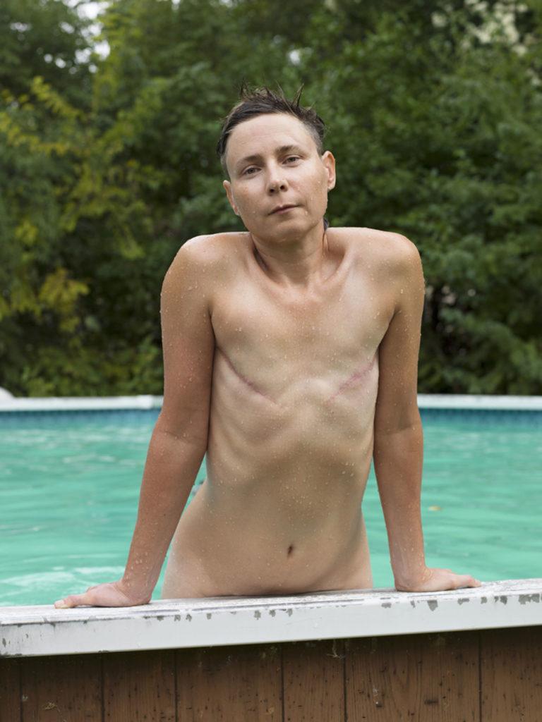 "Jess T. Dugan, ""Jamie (pool),"" 2017."